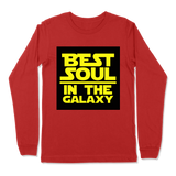 BEST SOUL IN GALAXY - LONG SLEEVE T-SHIRT LONG SLEEVE T-SHIRT Red / S DEARSOUL