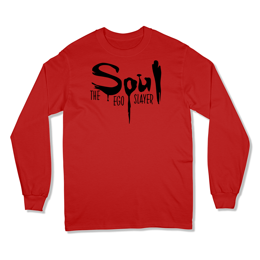 SOUL THE EGO SLAYER - LONG SLEEVE T-SHIRT LONG SLEEVE T-SHIRT RED / S DEARSOUL