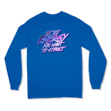 BE THE ENERGY YOU WANT - LONG SLEEVE T-SHIRT LONG SLEEVE T-SHIRT Royal / S DEARSOUL