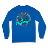 I'M JUST HERE FOR THE SOUL EXPANSION - LONG SLEEVE T-SHIRT LONG SLEEVE T-SHIRT Royal / S DEARSOUL