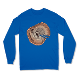 OLD SOUL - LONG SLEEVE T-SHIRT LONG SLEEVE T-SHIRT Royal / S DEARSOUL