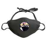 E-GO - ADJUSTABLE FACE MASK MASK Black DEARSOUL