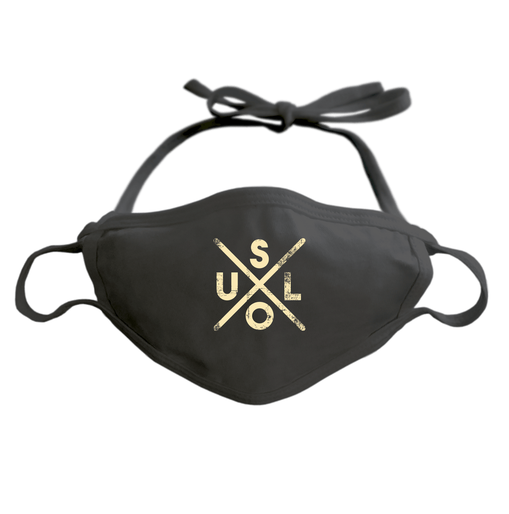 SOUL - ADJUSTABLE FACE MASK MASK Black DEARSOUL