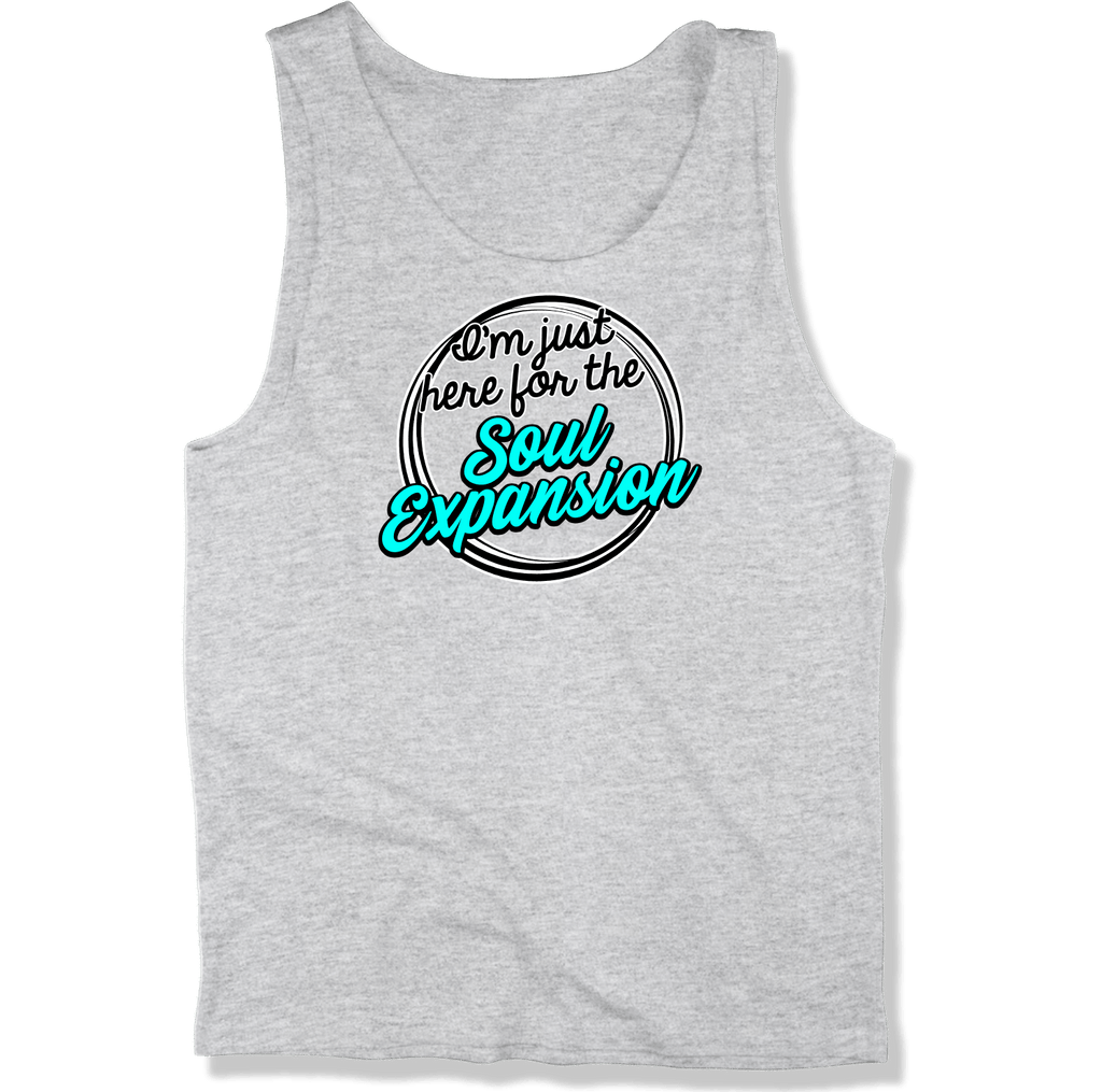 IM JUST HERE FOR THE SOUL EXPANSION - MENS TANK TOP MEN'S TANK Athletic Heather / XS DEARSOUL