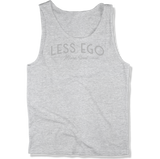 LESS EGO MORE SOUL - MENS TANK TOP MEN'S TANK Athletic Heather / XS DEARSOUL