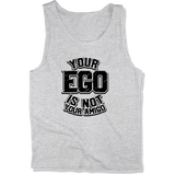 YOUR EGO NOT AMIGO - MENS TANK TOP MEN'S TANK Athletic Heather / XS DEARSOUL