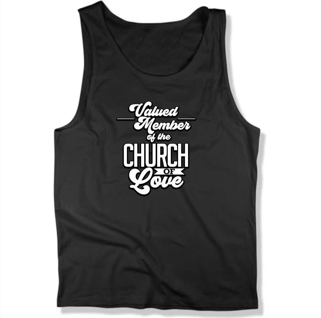 CHURCH OF SOUL - MEN'S TANK TOP MEN'S TANK Black / XS DEARSOUL