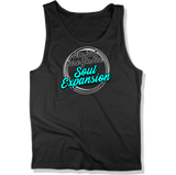 IM JUST HERE FOR THE SOUL EXPANSION - MENS TANK TOP MEN'S TANK Black / XS DEARSOUL
