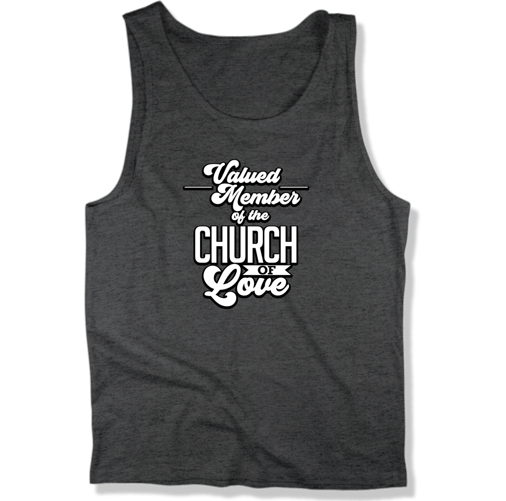 CHURCH OF SOUL - MEN'S TANK TOP MEN'S TANK Charcoal Heather / XS DEARSOUL