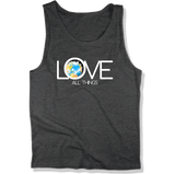 LOVE ALL THINGS - Mens Tank Top MEN'S TANK Charcoal Heather / XS DEARSOUL