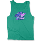 BE THE ENERGY YOU WANT - MENS TANK TOP MEN'S TANK Kelly / XS DEARSOUL