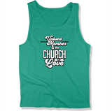 CHURCH OF SOUL - MEN'S TANK TOP MEN'S TANK Kelly / XS DEARSOUL