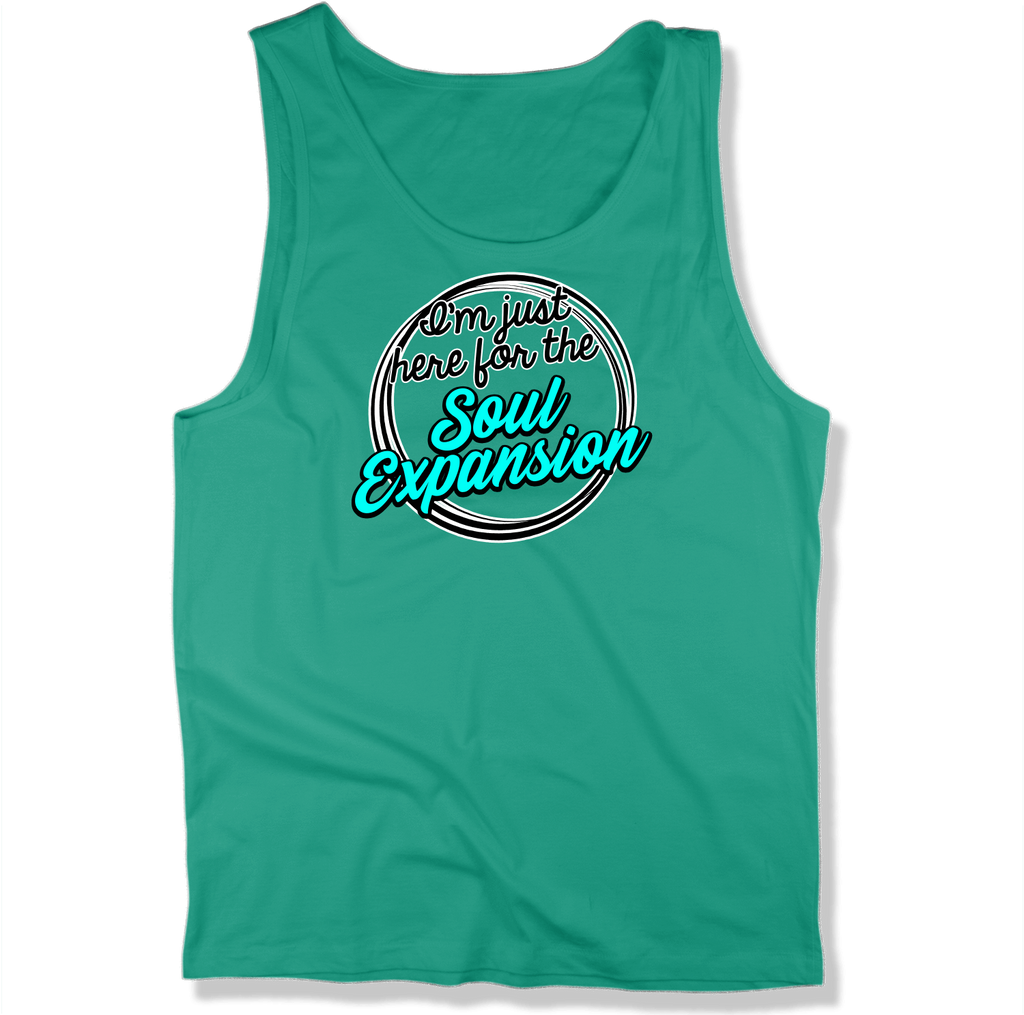 IM JUST HERE FOR THE SOUL EXPANSION - MENS TANK TOP MEN'S TANK Kelly / XS DEARSOUL