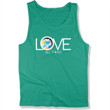 LOVE ALL THINGS - Mens Tank Top MEN'S TANK Kelly / XS DEARSOUL