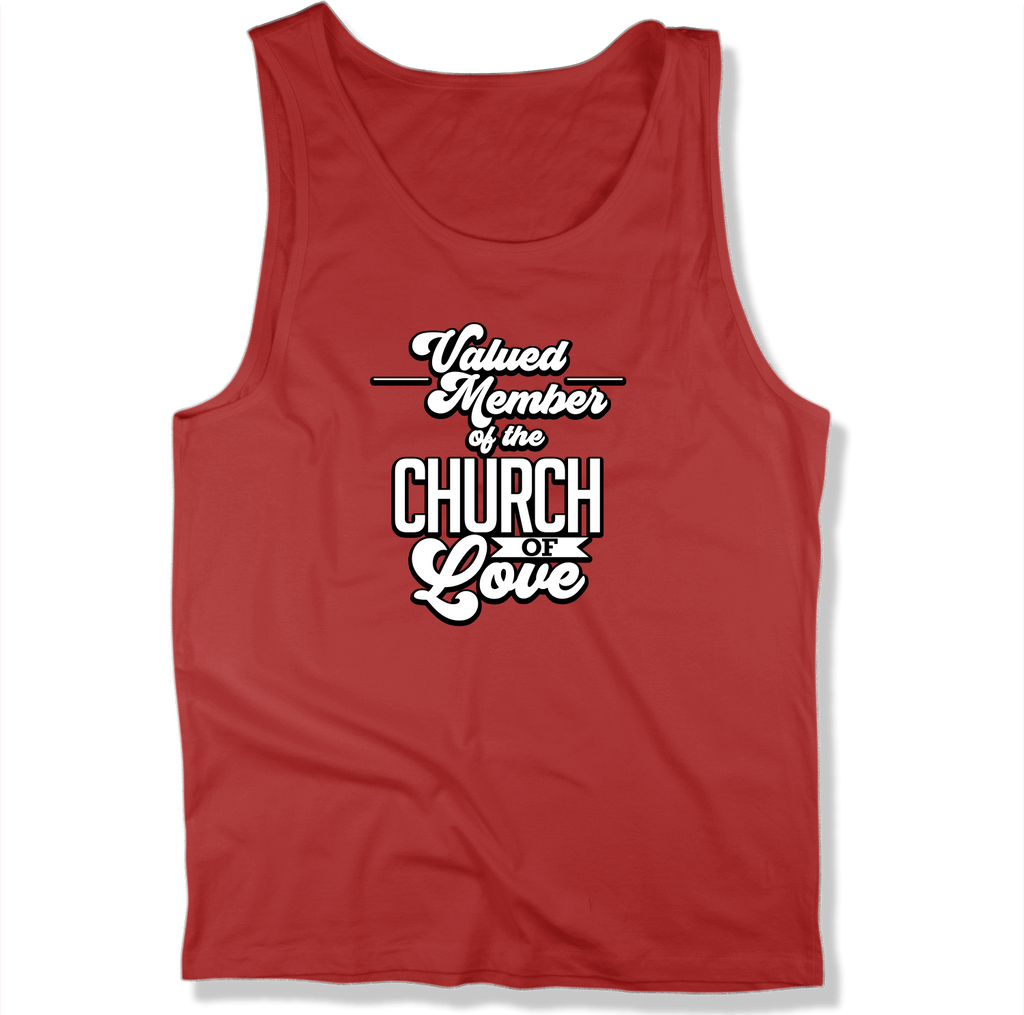 CHURCH OF SOUL - MEN'S TANK TOP MEN'S TANK True Red / XS DEARSOUL