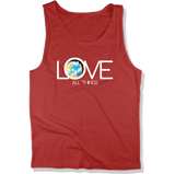 LOVE ALL THINGS - Mens Tank Top MEN'S TANK True Red / XS DEARSOUL