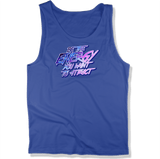 BE THE ENERGY YOU WANT - MENS TANK TOP MEN'S TANK True Royal / XS DEARSOUL