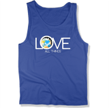 LOVE ALL THINGS - Mens Tank Top MEN'S TANK True Royal / XS DEARSOUL