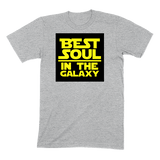 BEST SOUL IN GALAXY - MENS T-SHIRT MENS T-SHIRT Athletic Heather / S DEARSOUL