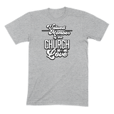 CHURCH OF SOUL - MENS T-SHIRT MENS T-SHIRT Athletic Heather / S DEARSOUL