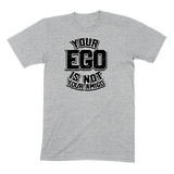YOUR EGO NOT AMIGO - MENS T-SHIRT MENS T-SHIRT Athletic Heather / S DEARSOUL