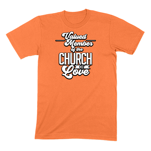 CHURCH OF SOUL - MENS T-SHIRT MENS T-SHIRT Burnt Orange / S DEARSOUL