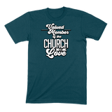 CHURCH OF SOUL - MENS T-SHIRT MENS T-SHIRT Deep Teal / S DEARSOUL