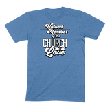 CHURCH OF SOUL - MENS T-SHIRT MENS T-SHIRT Heather Columbia Blue / S DEARSOUL