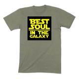 BEST SOUL IN GALAXY - MENS T-SHIRT MENS T-SHIRT Heather Stone / S DEARSOUL