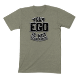 YOUR EGO NOT AMIGO - MENS T-SHIRT MENS T-SHIRT Heather Stone / S DEARSOUL