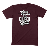 CHURCH OF SOUL - MENS T-SHIRT MENS T-SHIRT Maroon / S DEARSOUL
