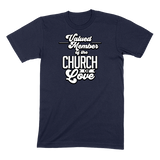 CHURCH OF SOUL - MENS T-SHIRT MENS T-SHIRT Navy / S DEARSOUL