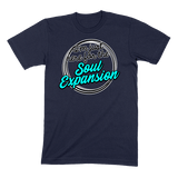 I'M JUST HERE FOR THE SOUL EXPANSION - MENS T-SHIRT MENS T-SHIRT Navy / S DEARSOUL