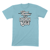 CHURCH OF SOUL - MENS T-SHIRT MENS T-SHIRT Ocean Blue / S DEARSOUL