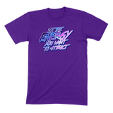 BE THE ENERGY YOU WANT - MENS T-SHIRT MENS T-SHIRT Team Purple / S DEARSOUL