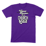 CHURCH OF SOUL - MENS T-SHIRT MENS T-SHIRT Team Purple / S DEARSOUL