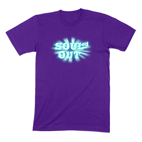 SOULED OUT - MENS T-SHIRT MENS T-SHIRT Team Purple / S DEARSOUL