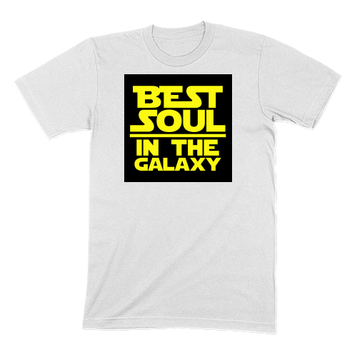 BEST SOUL IN GALAXY - MENS T-SHIRT MENS T-SHIRT White / S DEARSOUL