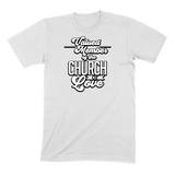 CHURCH OF SOUL - MENS T-SHIRT MENS T-SHIRT White / S DEARSOUL