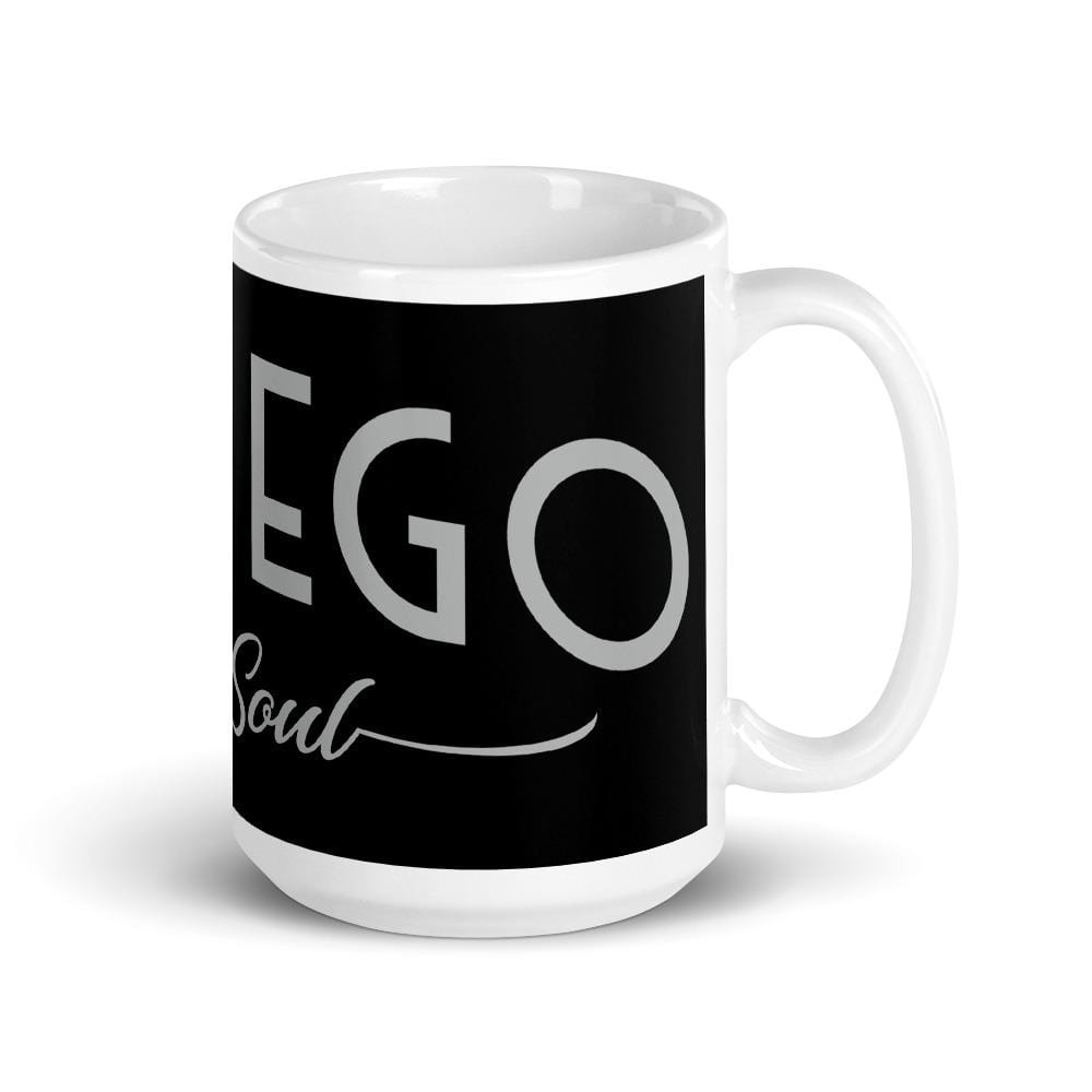 """LESS EGO MORE SOUL"" MUG MUG 15oz DEARSOUL"