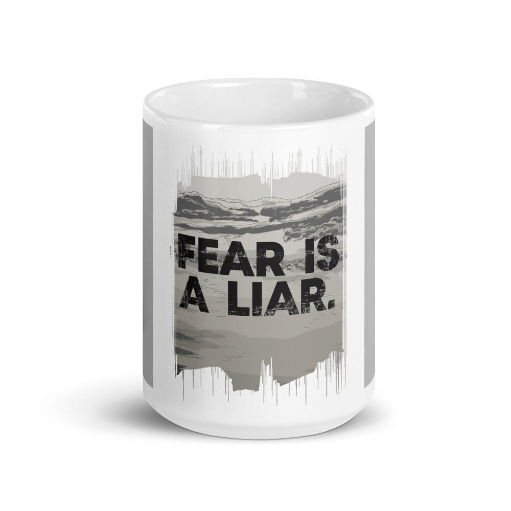 """FEAR IS A LIAR"" MUG MUG DEARSOUL"