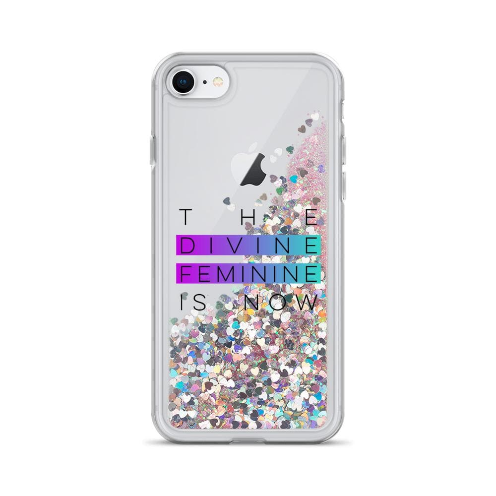 GLITTER DIVINE FEMININE iPHONE CASE MUG Pink / iPhone 7/8 DEARSOUL