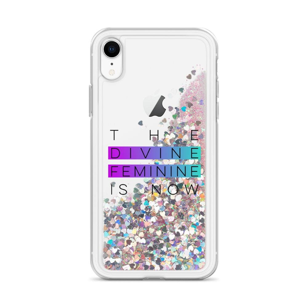 GLITTER DIVINE FEMININE iPHONE CASE MUG Pink / iPhone XR DEARSOUL