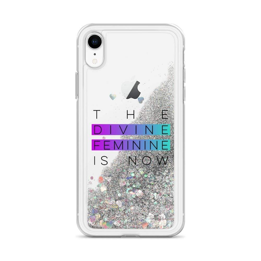 GLITTER DIVINE FEMININE iPHONE CASE MUG Silver / iPhone XR DEARSOUL