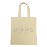 LESS EGO MORE SOUL-TOTE BAG Natural DEARSOUL