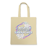 SUPER POWER-TOTE BAG Natural DEARSOUL