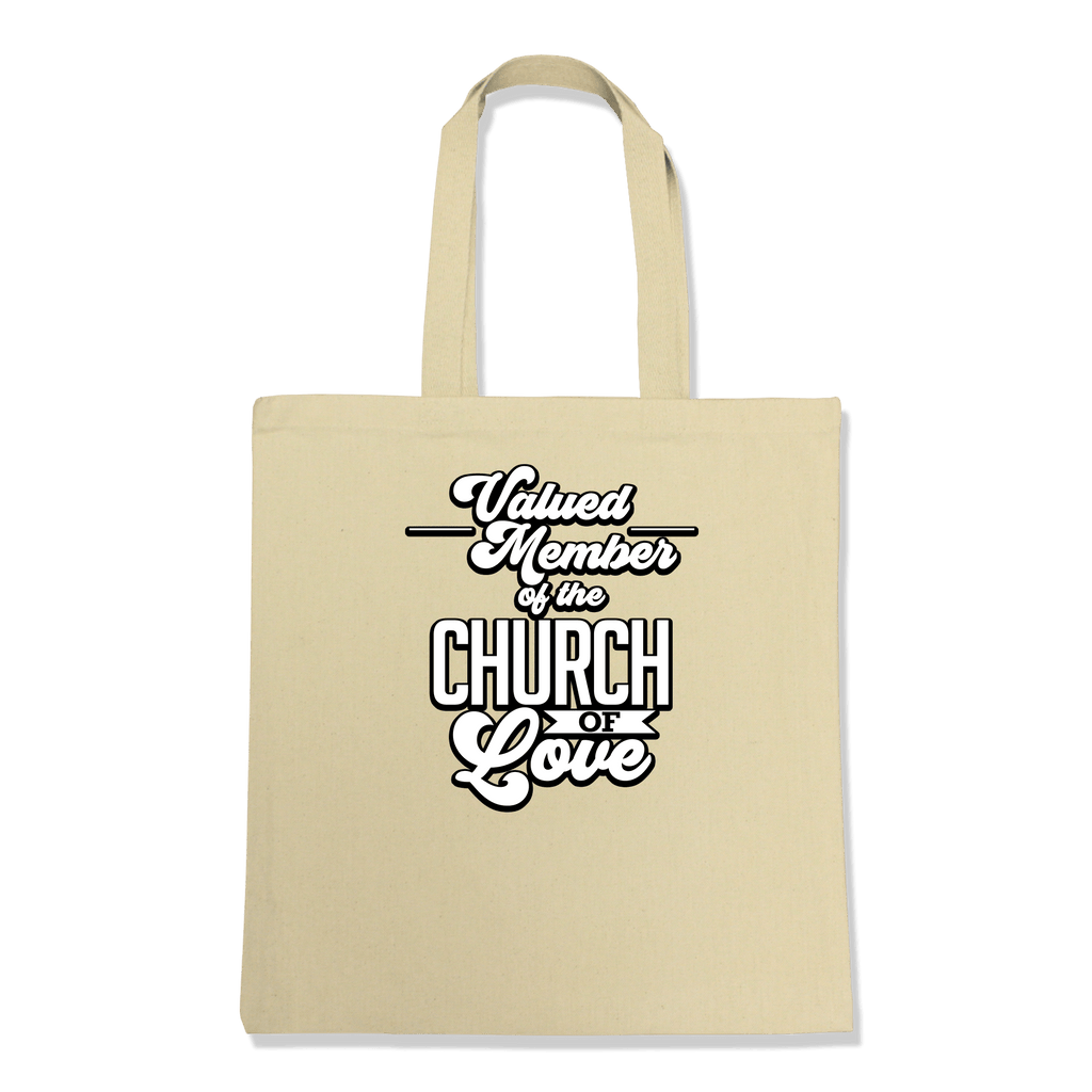VALUED MEMBER CURCH OF SOUL-TOTE BAG Natural DEARSOUL