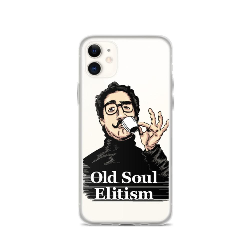 OLD SOUL ELITISM iPHONE CASE PHONE CASE iPhone 11 DEARSOUL