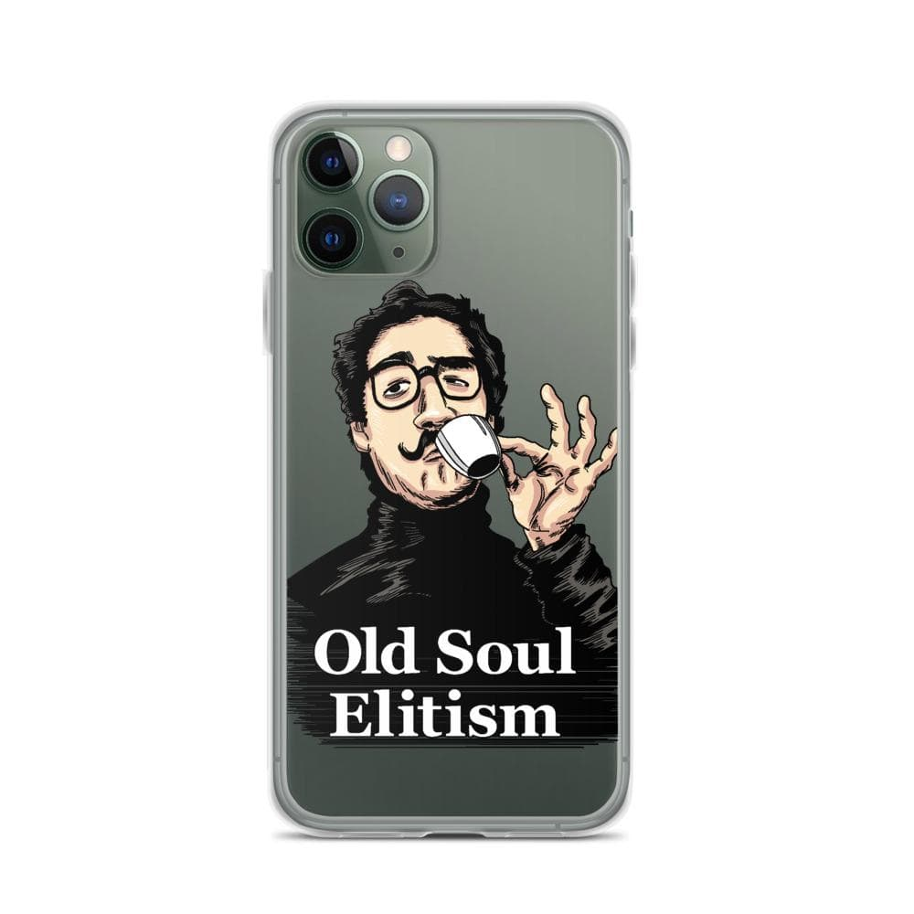 OLD SOUL ELITISM iPHONE CASE PHONE CASE iPhone 11 Pro DEARSOUL
