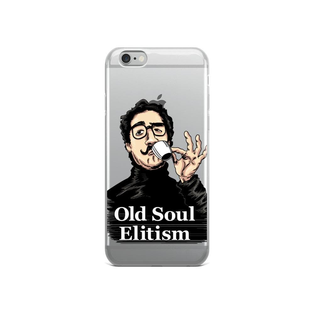 OLD SOUL ELITISM iPHONE CASE PHONE CASE iPhone 6/6s DEARSOUL